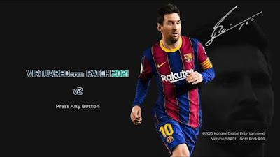 PES 2021 VirtuaRED.com Patch 2021 V2 AIO Season 2020/2021