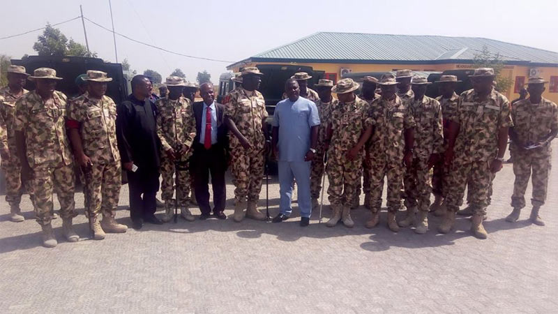 Photos: Nigerian Army receives order of Innoson war vehicles