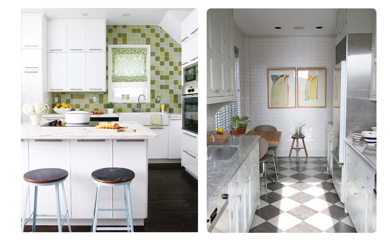 Fotos de cocinas peque as ideas para decorar dise ar y for Cocinetas para cocinas pequenas