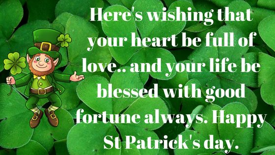 Happy St Patricks Day 2018 Wishes