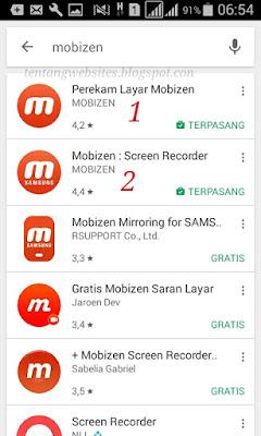 Apk untuk screenshot tanpa tombol tanpa root