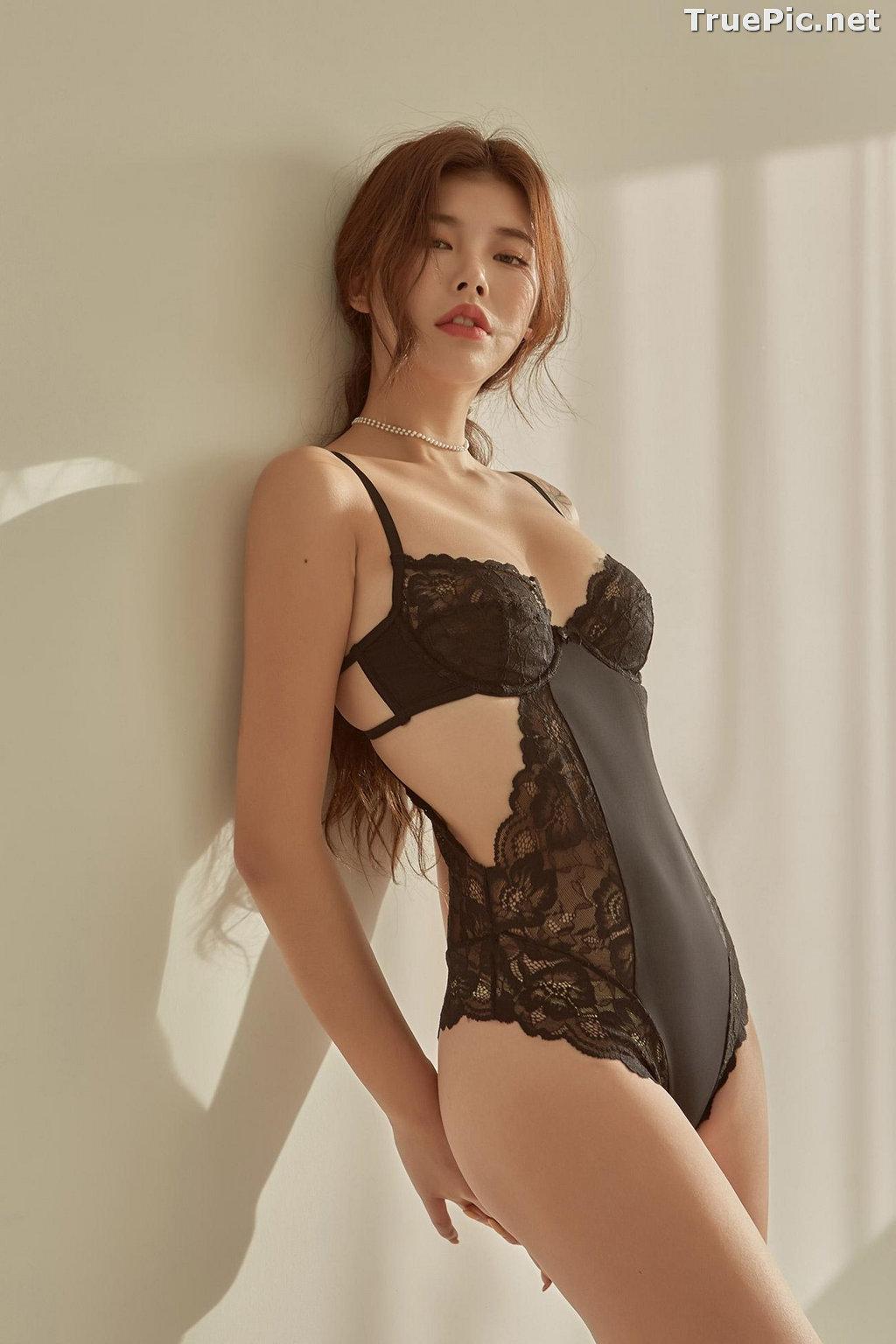 Image Korean Fashion Model - Da Yomi (다요미) - Lountess Spring Lingerie #1 - TruePic.net - Picture-6