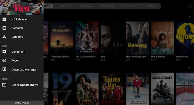 تحميل تطبيق Viva TV APK لمشاهدة الافلام و المسلسلات بدقة عالية
