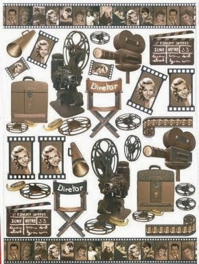 Clipart Películas de Hollywood.