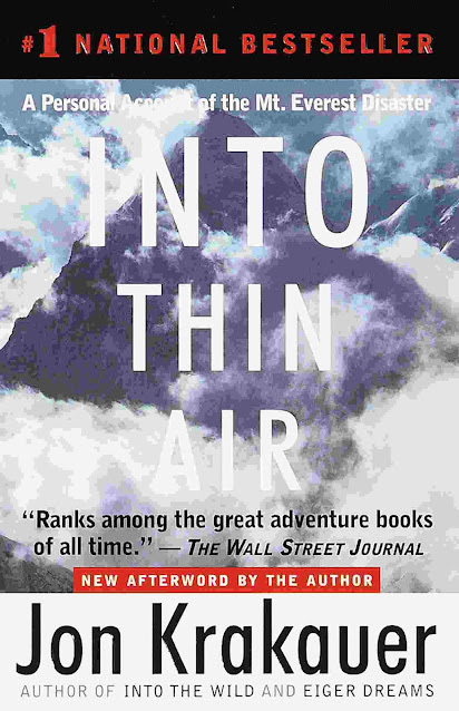 Into Thin Air A Personal Account of the Mt. Everest Disaster