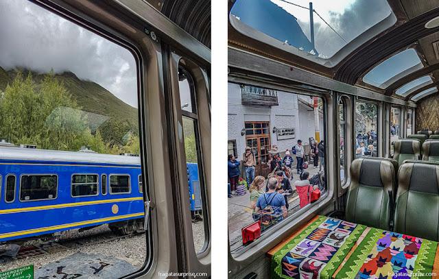 Trem para Machu Picchu, Vistadome