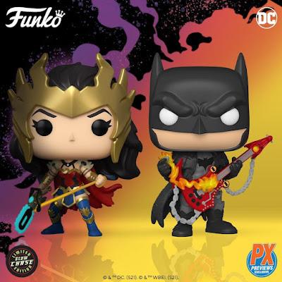 DC Comics Dark Nights: Death Metal Batman & Wonder Woman Pop! Vinyl Figures by Funko