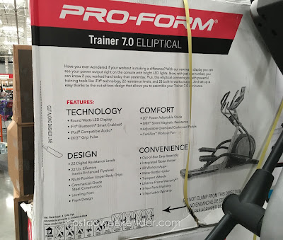 ProForm Trainer 7.0 Elliptical - Measure your fitness success with the workout power meter