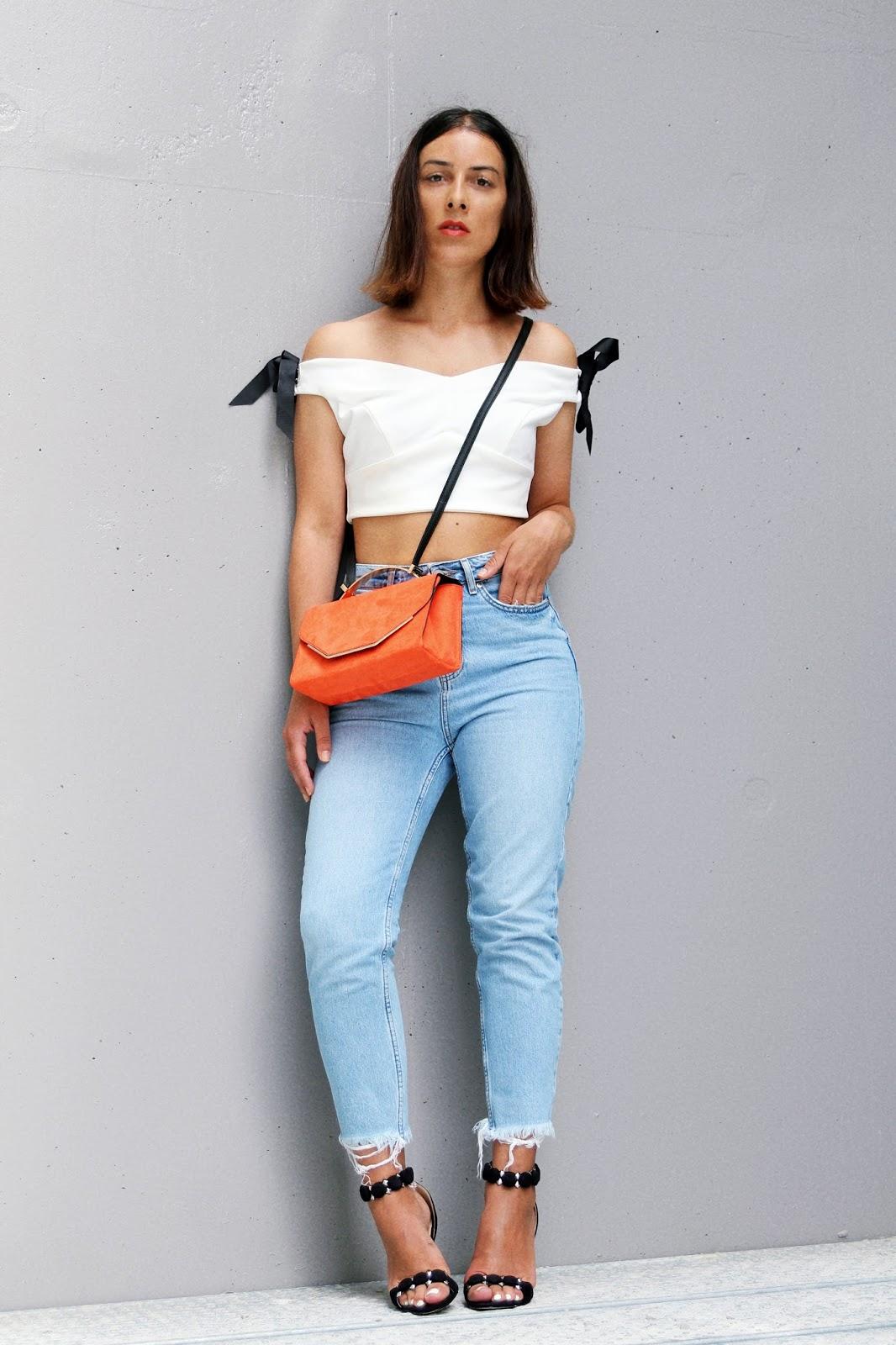 idée-de-look-été-2017-crop-top-jean-taille-haute-summer