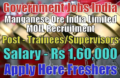 MOIL Limited Recruitment 2019