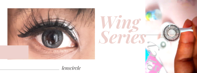 Review: Circle Lens Cinza - Grey WING  ♡ Lenscircle