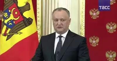 ΜΟΛΔΑΒΙΑ: Υπό την σημαία της ΕΕ εκλάπη πλούτος της χώρας μας, κατήγγειλε ο Πρόεδρος της Δημοκρατίας