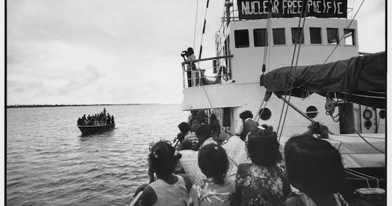 From nuclear refugees to climate justice – the Rainbow Warrior legacy