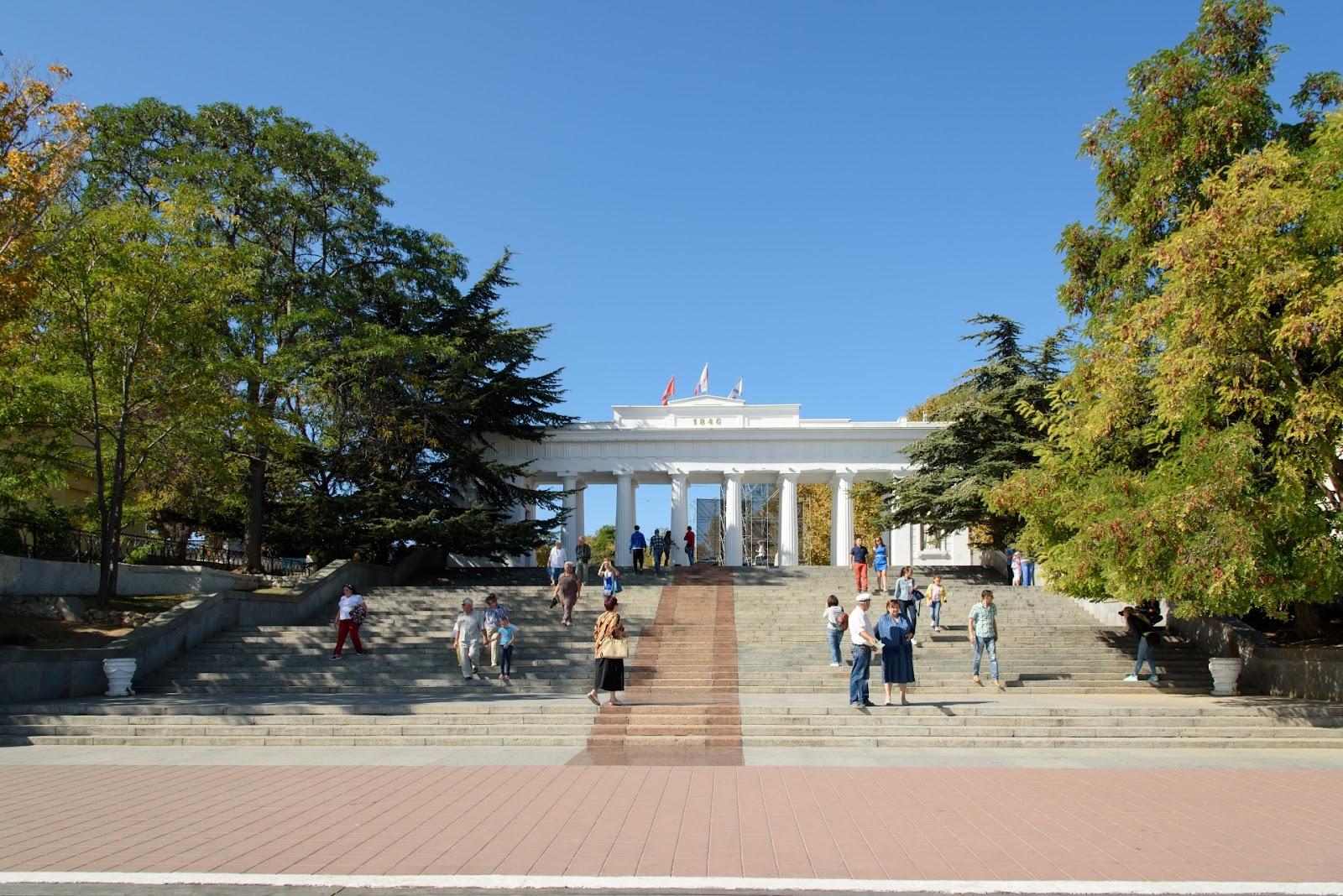 Морской вокзал в Севастополе