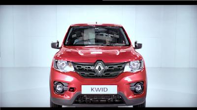 Renault Kwid front look
