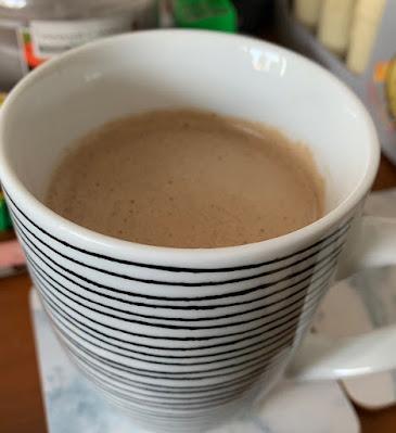 Hazelnut Latte and Velvetiser (Hotel Chocolat)