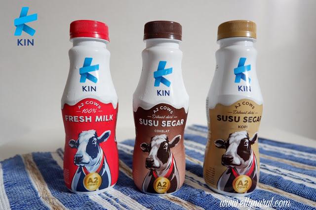 makin nyaman berbuka dengan kin fresh milk susu dari sapi a2