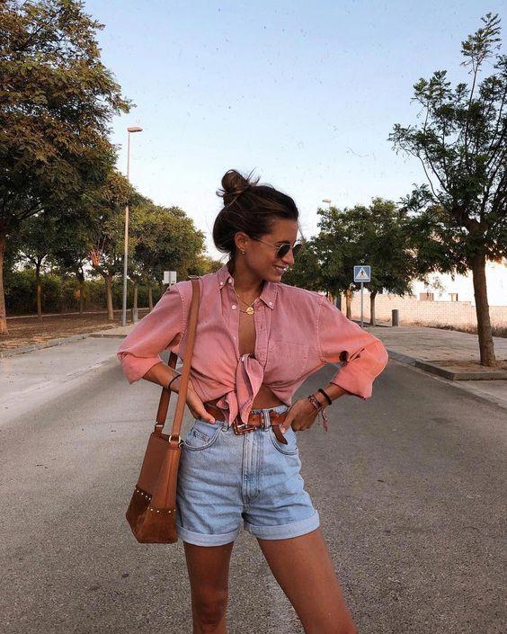 Looks de verão com camisa