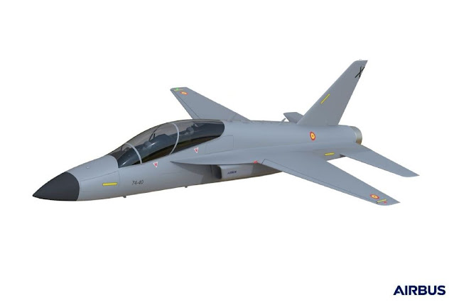 Here are more details on Airbus Future Jet Trainer AFJT