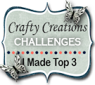 Top3 Crafty Creations Challenge nº361