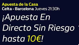 william hill Apuesta de la Casa Celta vs Barcelona 1-10-2020