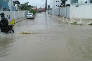 Inmet emite alerta de grande perigo para 17 cidades na Paraíba por causa de chuvas