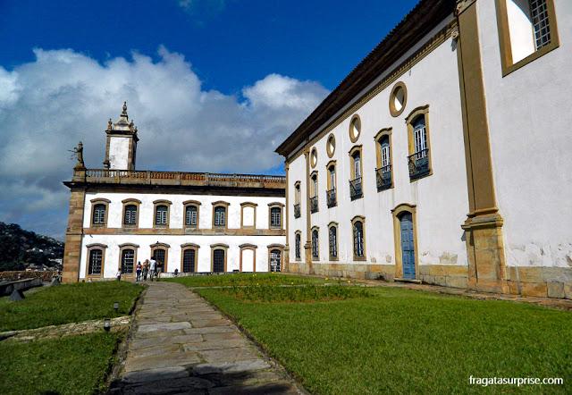 Museu da Inconfidência e Igreja do Carmo, em Ouro Preto
