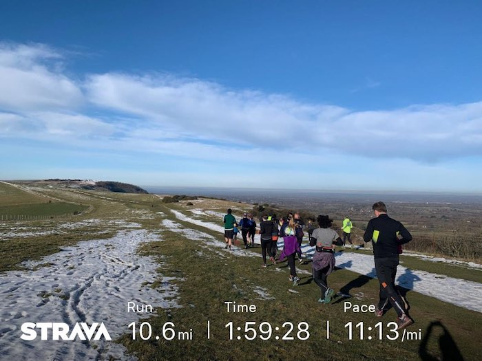 FitBits _ Brighton Marathon training - positive mindset RunBrighton - Tess Agnew fitness blogger