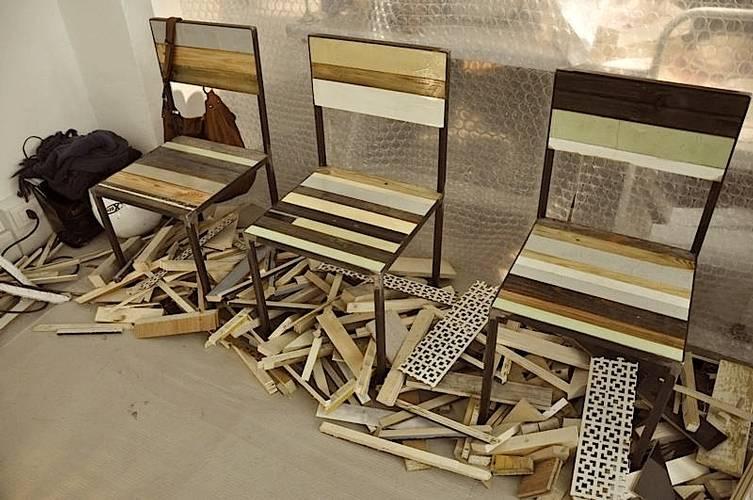arquitetando ideias aproveitando sobras de material em novos m veis. Black Bedroom Furniture Sets. Home Design Ideas