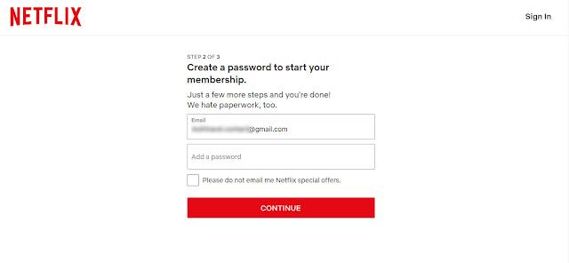 Cara Daftar Netflix