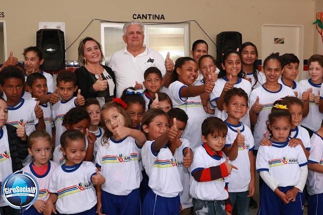 Prefeito do Município de Buíque, Arquimedes Guedes Valença  é premiado pela abrinq como prefeito amigo das crianças