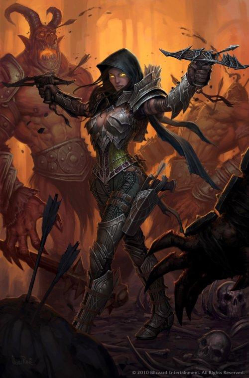 Glenn Rane deviantart artstation arte ilustrações fantasia games blizzard diablo world of warcraft hearthstone heroes of storm
