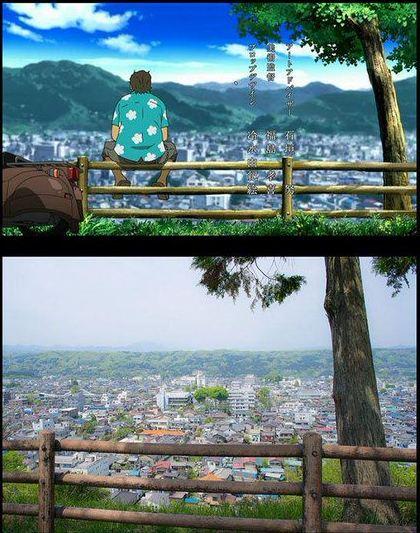 47 gambar Anime vs Dunia nyata yang dapat dijadikan pilihan untuk wallpaper hp