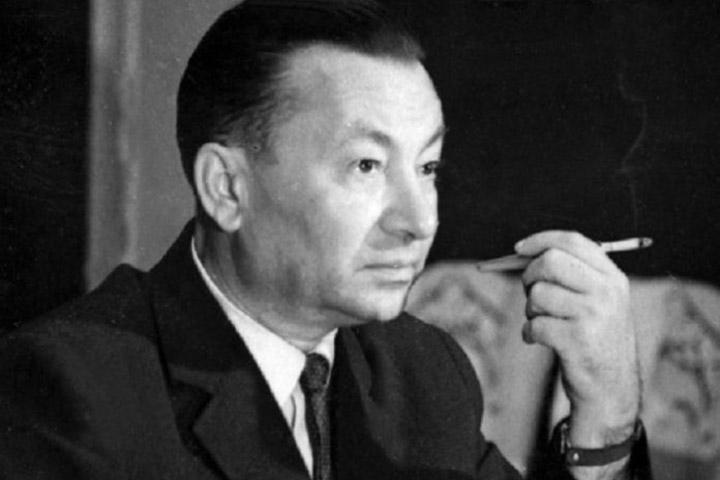 Український поет, перекладач, літературний критик Андрій Малишко (1912–1970)