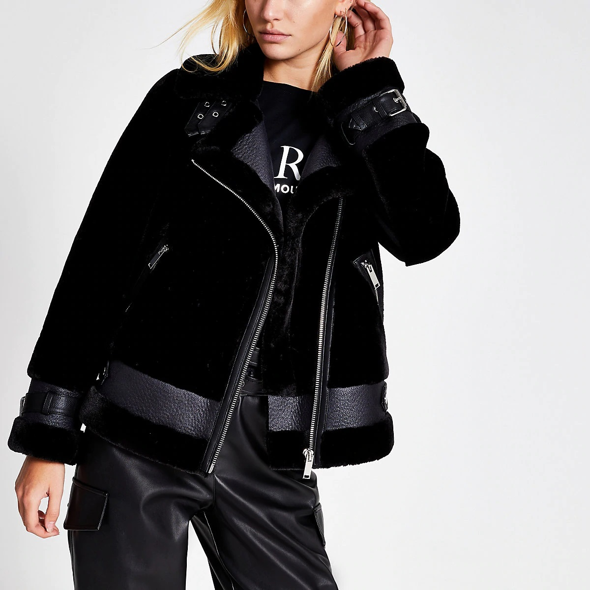 River Island Aviator Jacket
