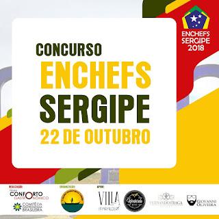 Enchefs-SE 2018: Concurso gastronômico ocorrerá em Aracaju no dia 22 de outubro