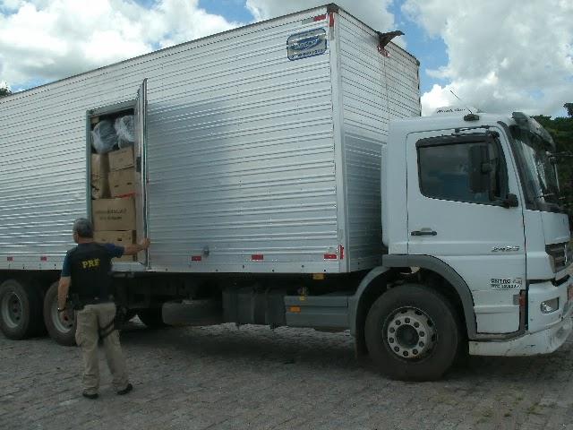 Cai número de caminhões recuperados após furto ou roubo