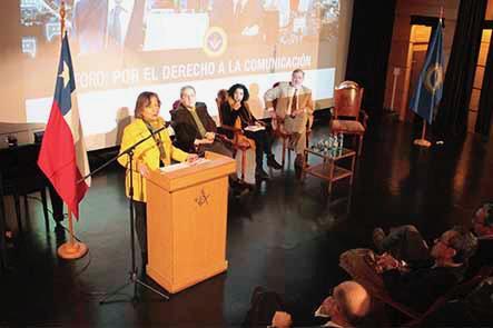 Colegio de periodistas participa en el Foro Derecho a la Comunicación