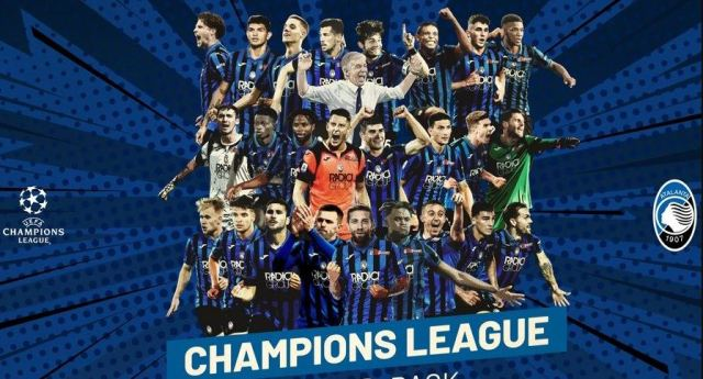 Lolos ke Perempatfinal Liga Champions, Atalanta Trending