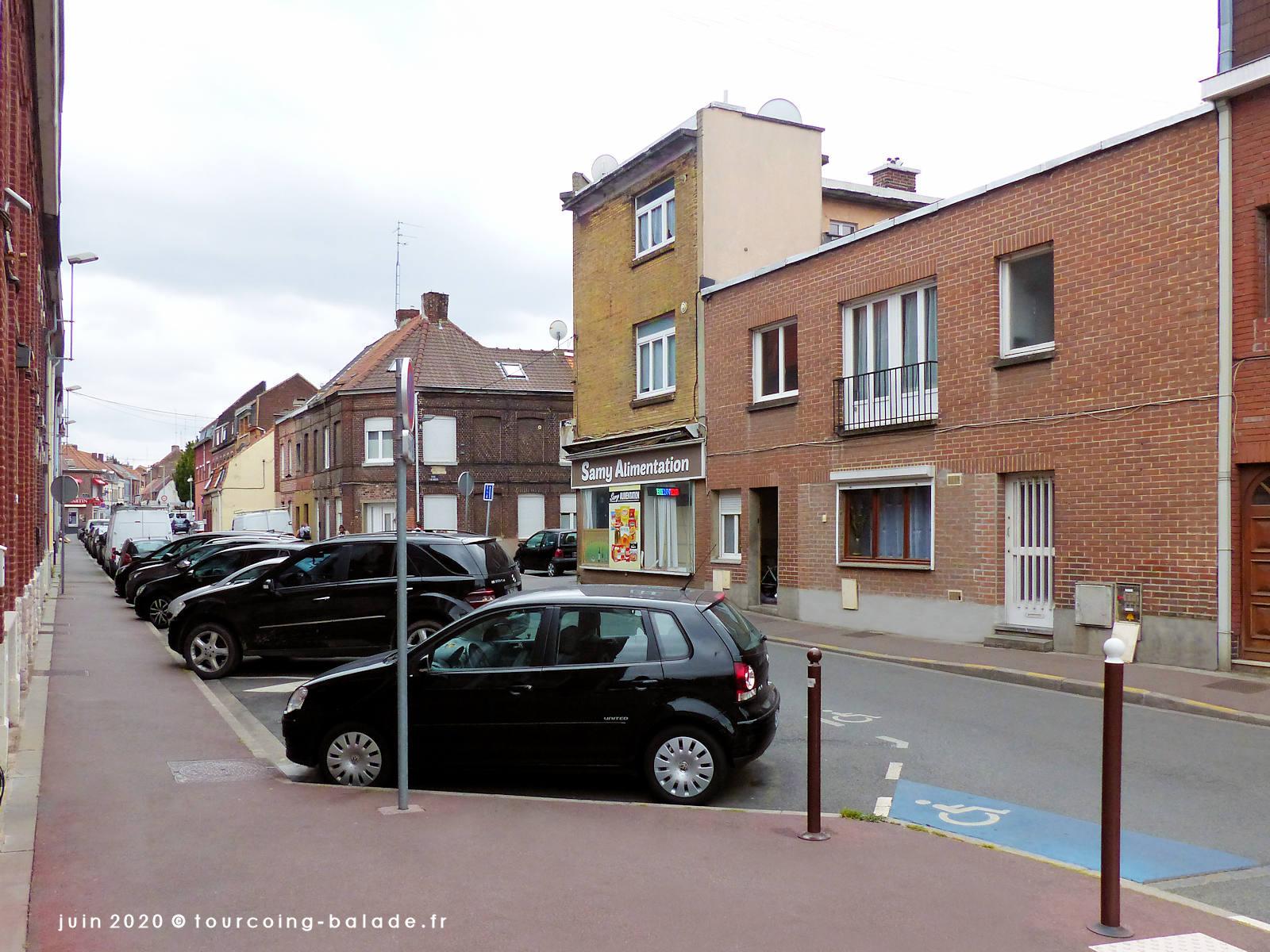 Rue de Roncqu, Tourcoing 2020