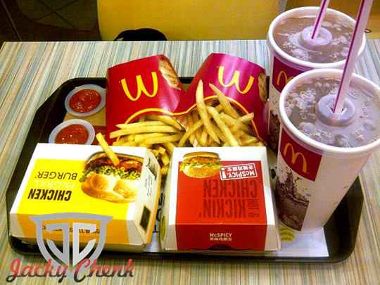 Daftar Harga Menu McD McDonald's Terbaru 2016