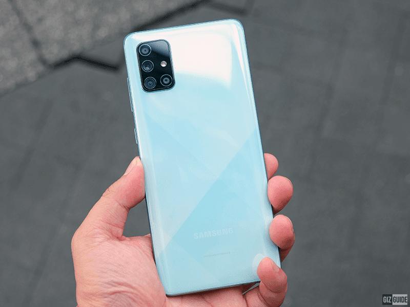 Samsung's prism design accents