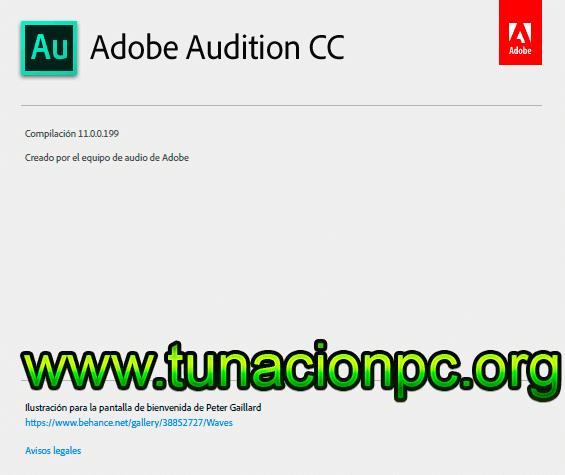Adobe Audition CC 2018 Final Imagen