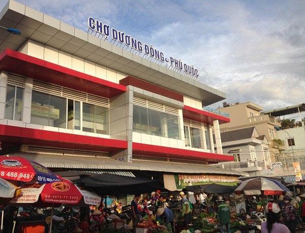 Chợ Dương Đông một nơi lý tưởng để mua hải sản tươi ngon