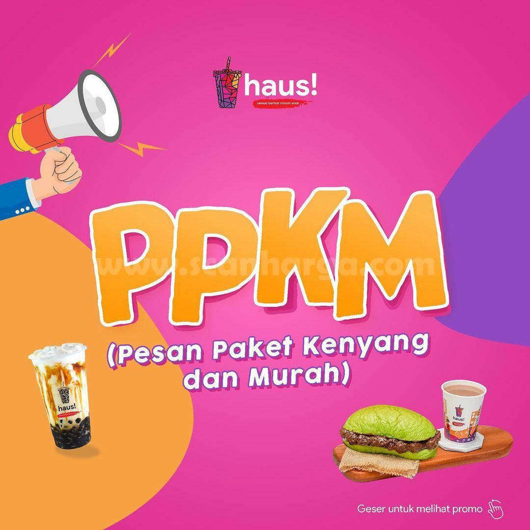 HAUS! Promo PPKM (Pesan Paket Kenyang dan Murah)