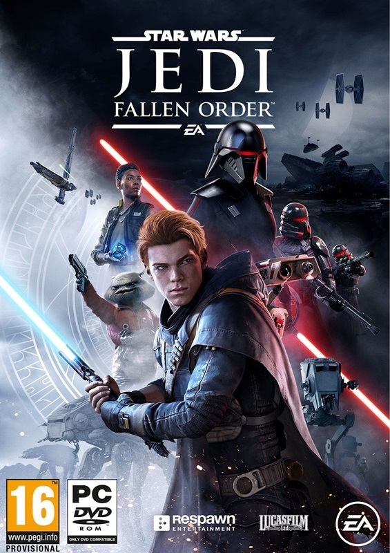 Descargar Star Wars Jedi Fallen Order PC Cover Caratula
