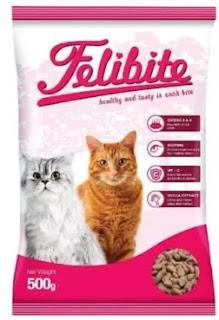 Keunggulan Makanan Kucing Felibite