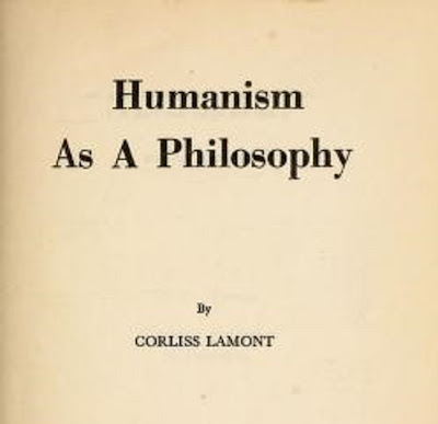Humanism as a philosophy Free PDF Book