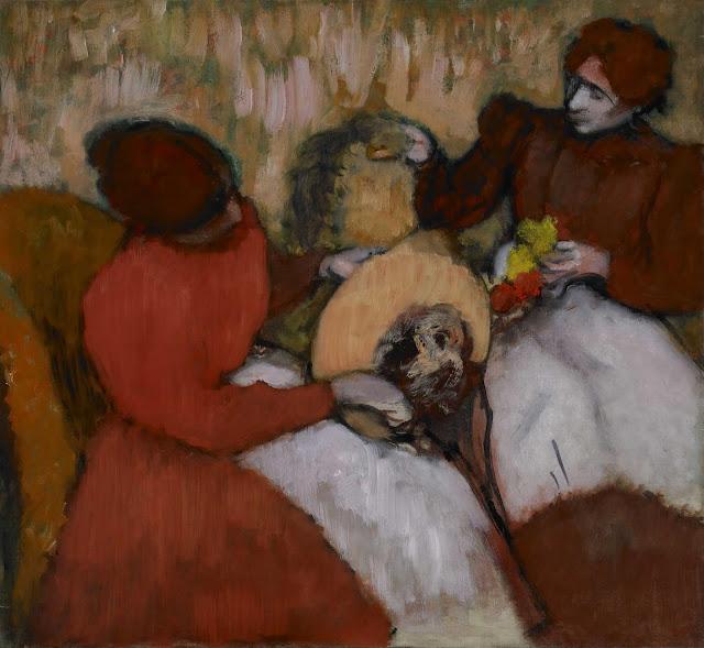 Эдгар Дега - Модистки (ок.1898)