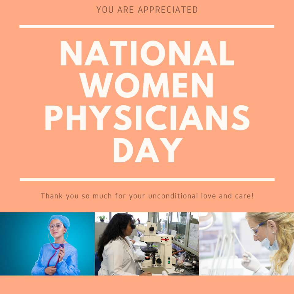 National Women Physicians Day Wishes Beautiful Image
